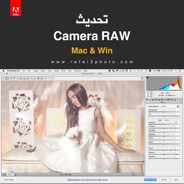Update Camera RAW 9.2